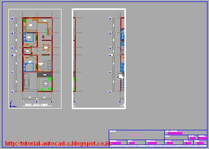 cara mengatur view layout pada autocad prinsip cara melakukan layout gambar di autocad tutorial