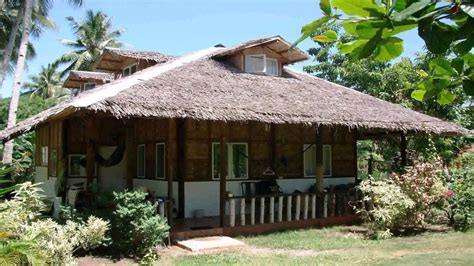 nipa house design nipa hut house design in the philippines youtube