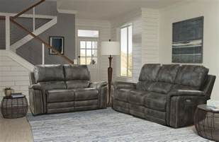 Ash Living Room Furniture by Belize Ash Dual Power Reclining Living Room Set From