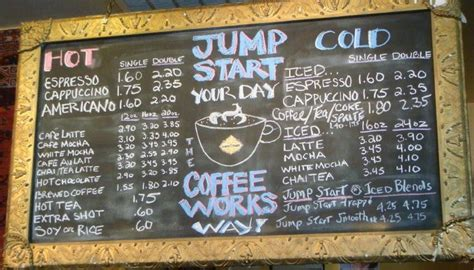 local coffee shop chalkboard menu almost too neat 14 best images about sip board ideas on pinterest food