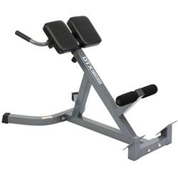 reverse bench dtx fitness back hyper extension exercise bench