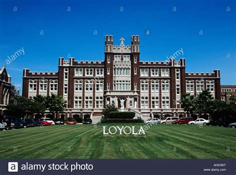 Boston College Evening Mba Acceptance Rate by Loyola New Orleans Louisiana Usa Stock Photo