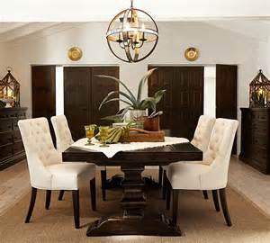 Pottery Barn Dining Room by Hayes Tufted Chair Pottery Barn Au