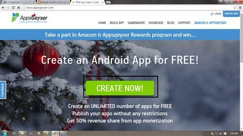 cara membuat website gratis dan mudah di android darfaz cara membuat aplikasi android cepat dan mudah evanhavidz s