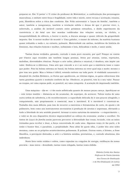 [1960] Clarice Lispector LaçOs De FamíLia