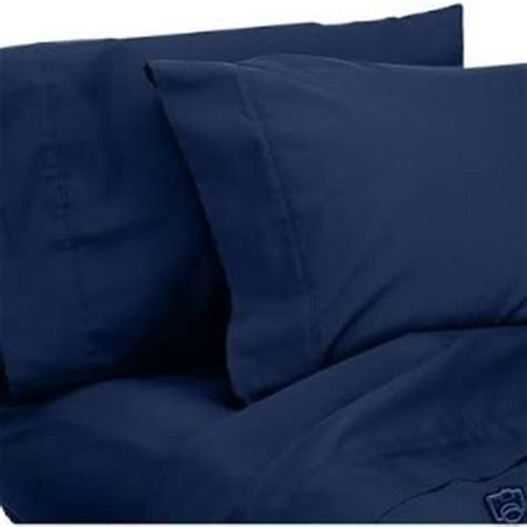 navy blue bed sheets 6pc 1200 series queen bed sheet set microfiber deep