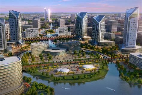 Shenyang International Automobile City in China by SBA
