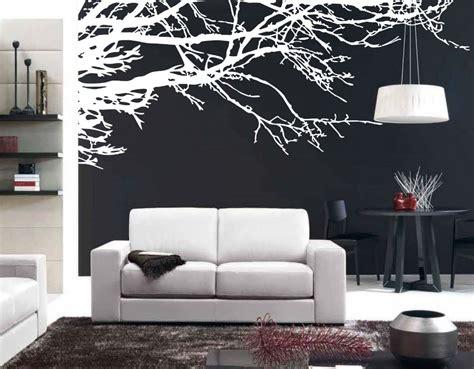 mega stunning tree branch removable vinyl wall stickers home decor black white tree