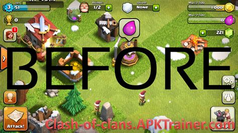 download game coc mod unlimited gems apk coc hack tool apk free download