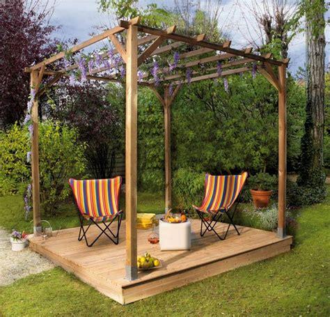Merveilleux Amenager Son Jardin Pas Cher #5: pergola-bois.jpg