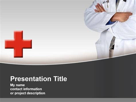 template ppt kesehatan free tema powerpoint template presentasi gratis