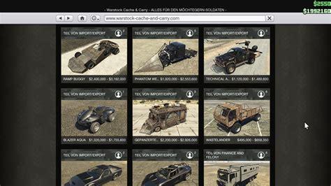 Gta 4 Auto Kaufen by Gta 5 So Kauft Ihr Spezialfahrzeuge Wie Ruiner