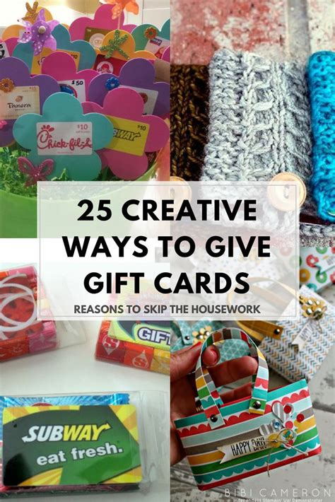 28 best ways to give gift cards for christmas creative