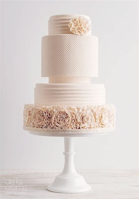 Contemporary Wedding Cakes amazing contemporary wedding cakes by de la cr 233 me