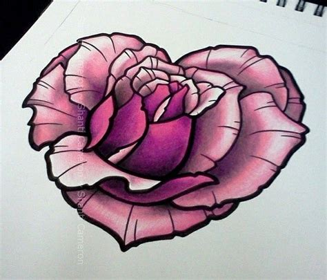 roses and heart tattoos best 25 ideas on tat