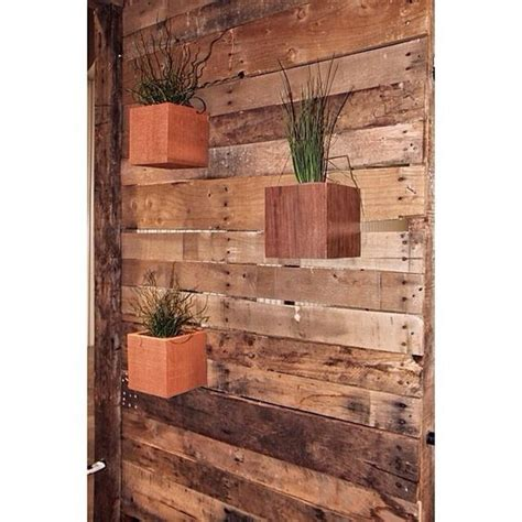 Wall Mounted Planter Box by Wall Mounted Planters Planter Boxes And Wood Walls On