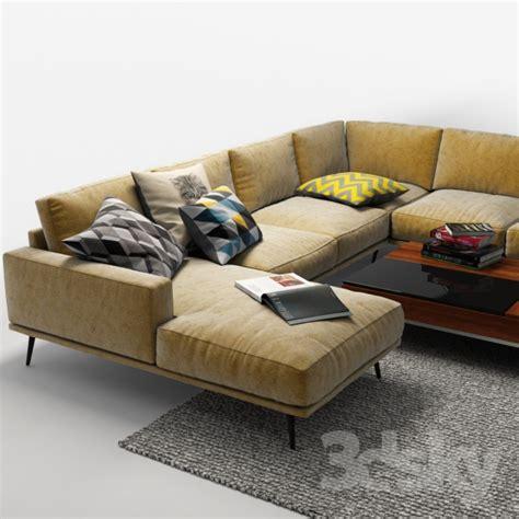boconcept sofa 3d models sofa corner sofa boconcept