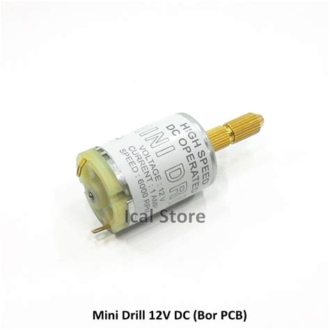 Bor Dc mini drill bor pcb 12v dc ical store ical store