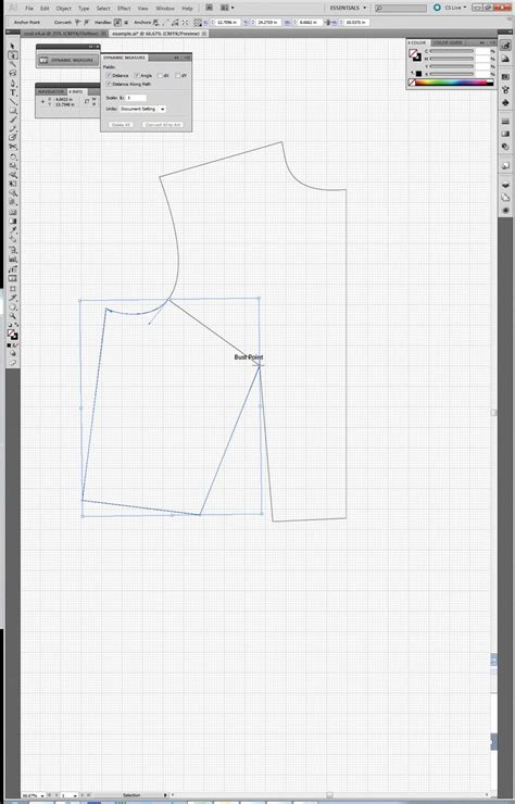 sewing pattern adobe illustrator 47 best digital pattern drafting images on pinterest