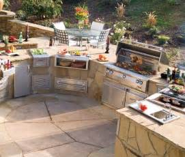 Decorating Ideas For Outdoor Kitchen Outdoor Kitchen Design Ideas Home Design Garden