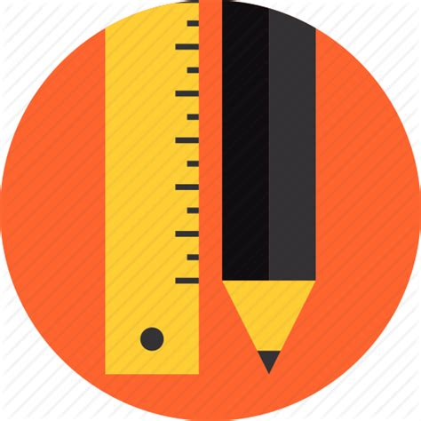 design icon with sketch drawing equipment graphic illustration pencil ruler