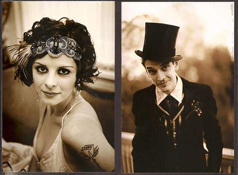 prohibition style hair vintage style wedding headband offbeatbride