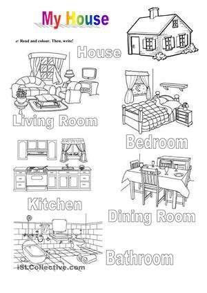 kindergarten activities my house rooms of the house pz pinterest student centered