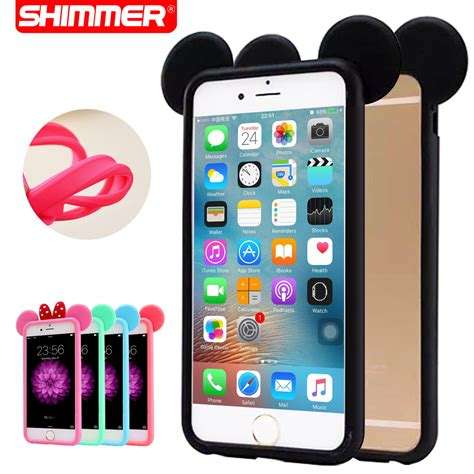Bumper 3d Silicon buy iphone 6 4 7case bumper mouse ears silicone