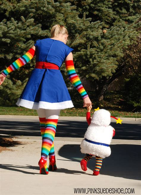 halloween costumes for mom and toddler parenting mom baby rainbow brite costumes