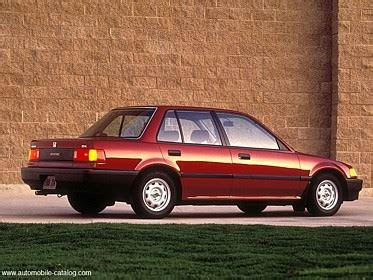 1988 Honda Civic 4 Door 1988 Honda Civic 4gen 4 Door Sedan Range Specs