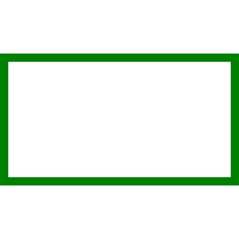 Rectangle Outline Clip by Rectangle Clip Clipart Best