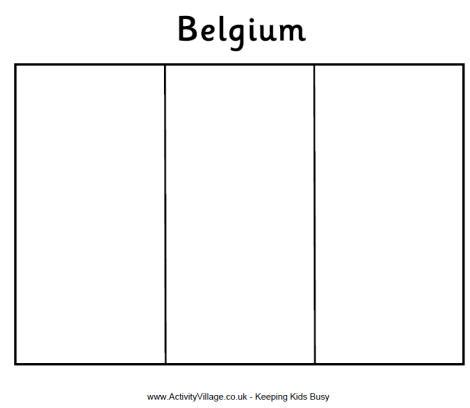 belgium flag free colouring pages