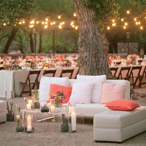 lounge area ideas mint and coral wedding