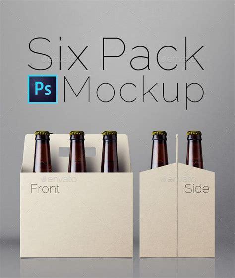 design mockup inspiration six pack mockup burkar design och inspiration