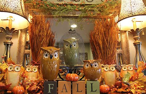 decorating your home for fall beautiful autumn d 233 cor for your walls