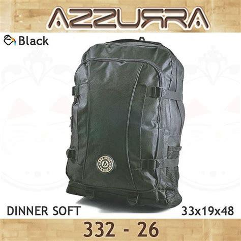 Tas Sekolah Anak Azzurra 588 05 tas ransel gendong backpack azzurra 332 26 warna black bahan dinner soft ukuran 33x19x48 cm