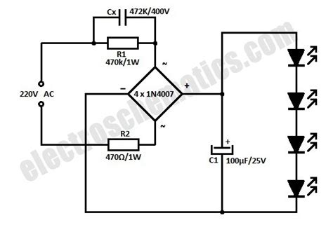 ac led capacitor calculator how can 181 f range capacitors reduce ac voltage electronics forums