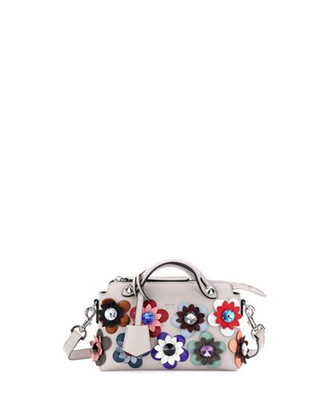 Tas Fendi By The Way Stud Multicolor Semprem 3231 A273 fendi by the way mini flowers satchel bag white multi