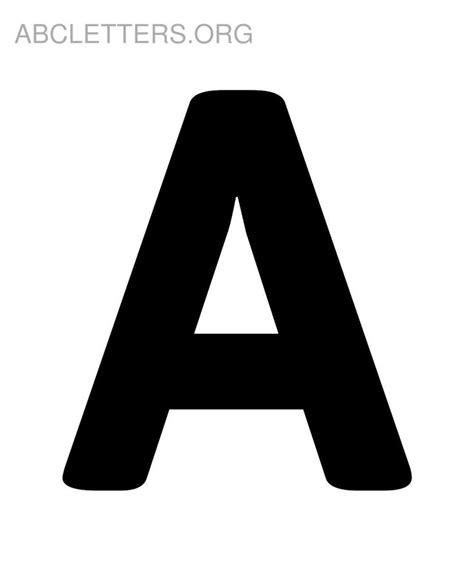 large printable alphabet letters with pictures big printable abc letters a abc moldes pinterest big