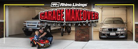 Do It Yourself Sweepstakes - rhino linings garage makeover sweepstakes winner