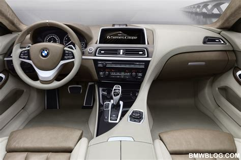 bmw inside bmw 6 series coupe concept the interior