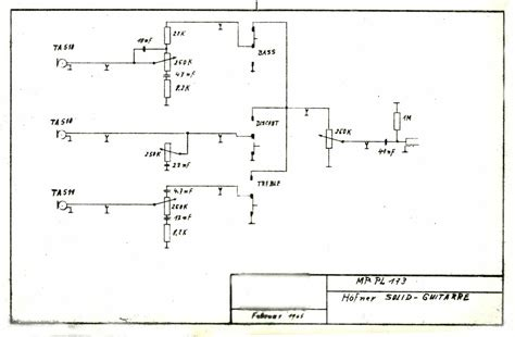 vintage melody maker wiring diagram get free image about