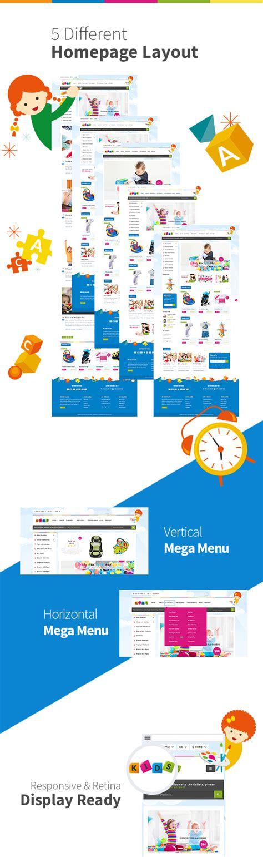 Kalista Kida kalista toys store responsive site template