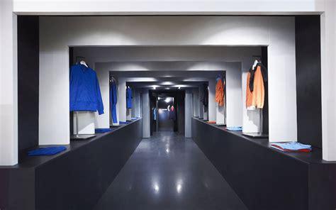 Blue Interior Design Garde Raf Simons Fred Perry Temporary Shop La