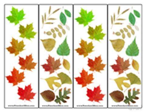 printable bookmarks fall free preschool printable bookmarks