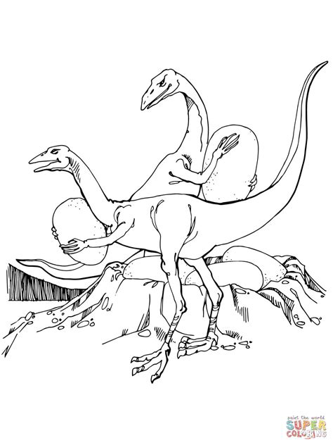 Troodon Coloring Page troodon coloring page coloring home