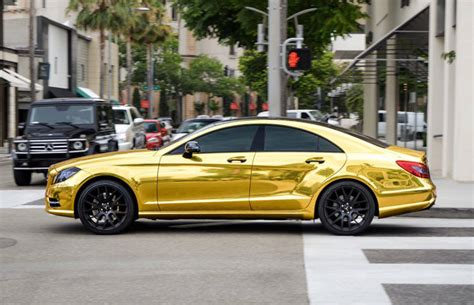 mercedes gold some keep gold in their garage the mercedes c63 amg