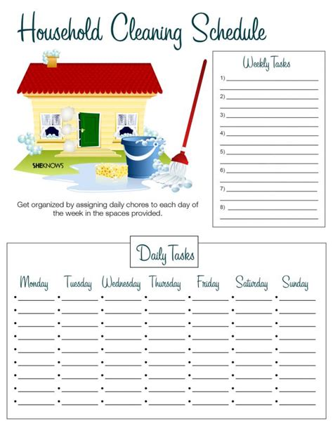 printable house cleaning checklist template what mommy brain 10 printable checklists that will