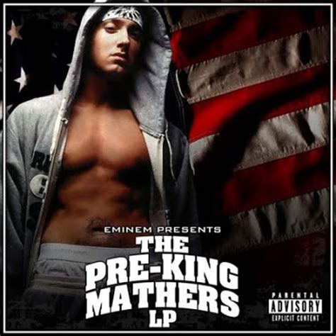 eminem king mathers eminem the pre king mathers lp album cover
