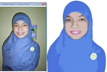 cara membuat foto menjadi kartun di adobe illustrator cara membuat vector di phothosop tutorial wajah kartun